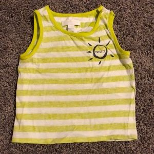 Super cute Neon stripe tank 💚💚💚